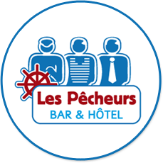 Hotel Les Pêcheurs in the centre of Lorient